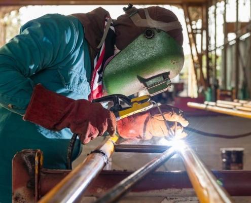 روش جوشکاری لوله های فولادی